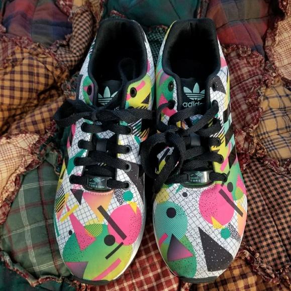 Adidas Geometric Colorful Shoes Womens